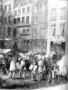 The streets of Paris...in the 1848. revo. .....HI!